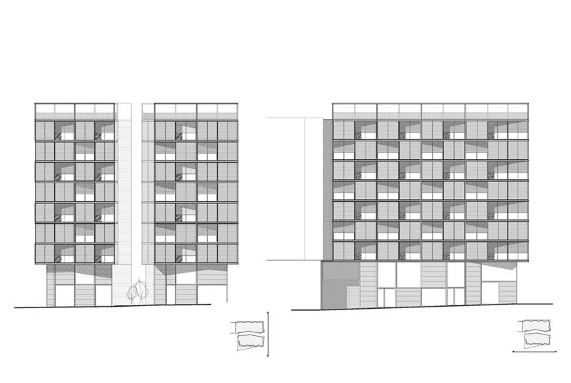 Edifici d'Habitatges Plaça Lesseps