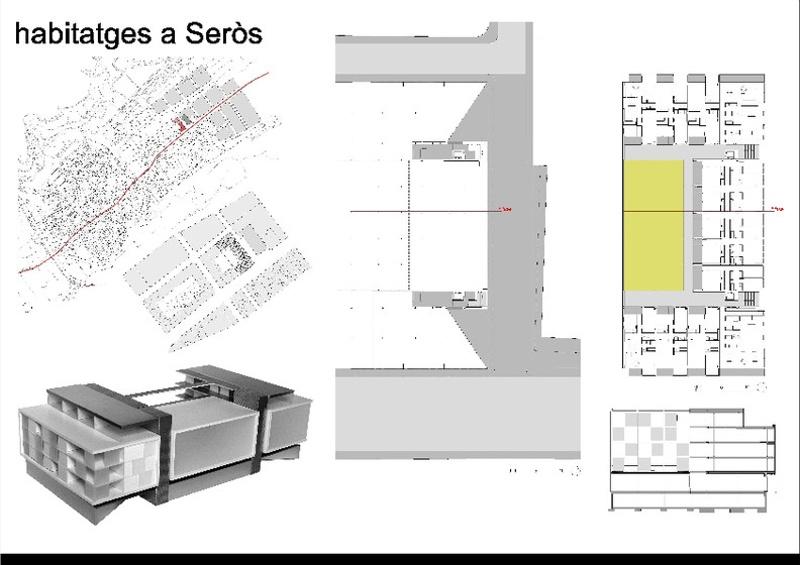 Dwellings in Seròs