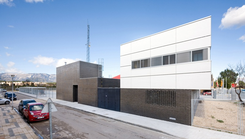 Fire Station and Headquarters of the Terres de l'Ebre Emergency Zone