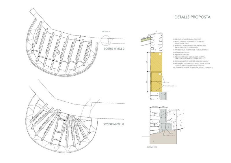 Consolidació i Reconstrucció de la Torre Fusellera del Castell de Móra d'Ebre