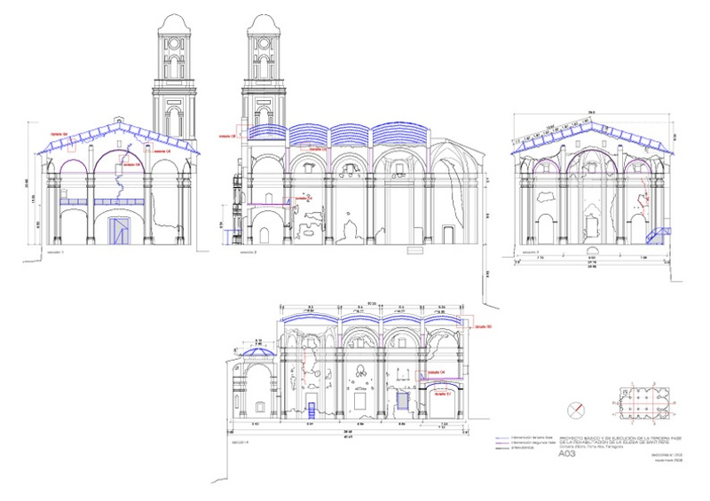 Rehabilitation of the Church of Sant Pere in Corbera d'Ebre