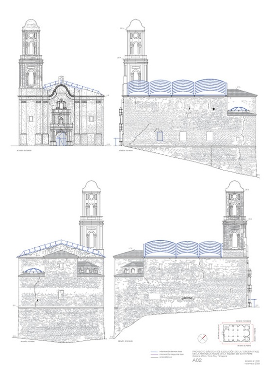 Rehabilitació de l'Església de Sant Pere de Corbera d'Ebre
