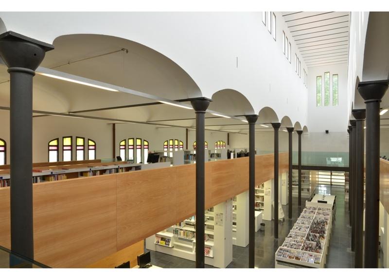 Biblioteca Antoni Comas a l'Antic Escorxador