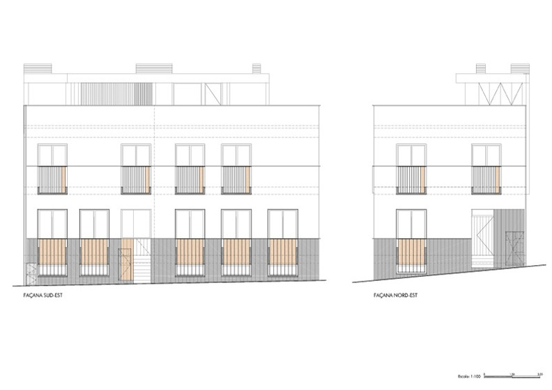 Dwellings for Two Families in Sarrià