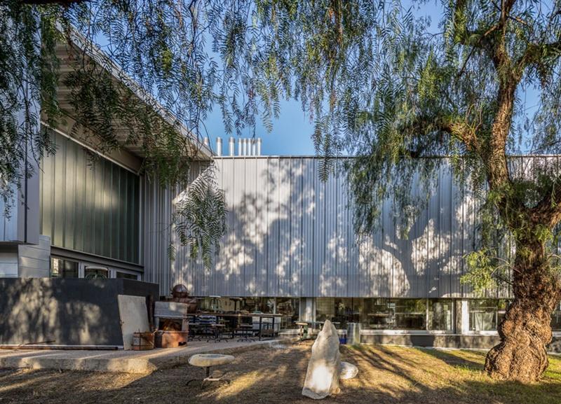 Nou Taller de Pedra i Metalls de la Facultat de Belles Arts de la UB