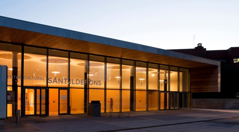 Sant Ildefons Library