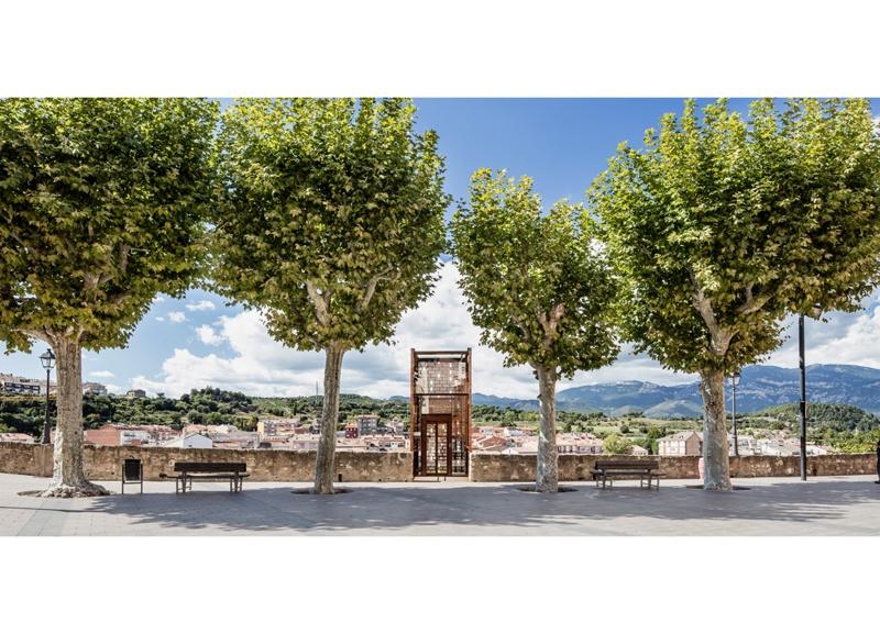 Nuevo Acceso al Centro Histórico de Gironella
