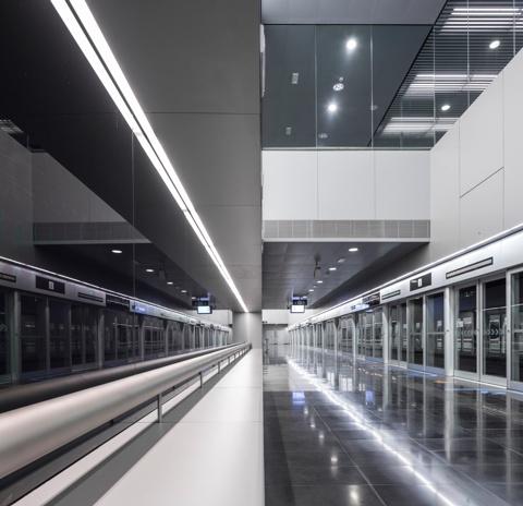 Estacions de Metro L9 Sud: Aeroport T1 i Aeroport T2