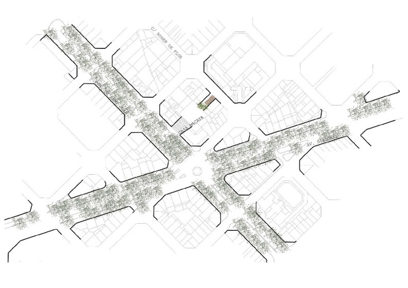 Urban Development of Roger de Flor-Macaya Public Space
