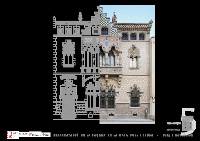 Rehabilitación Parcial de la Casa Joaquim Coll i Regàs