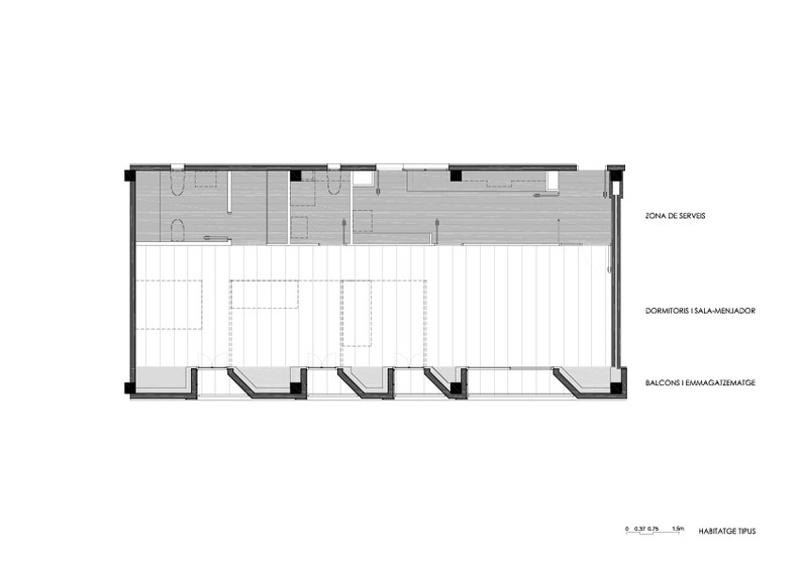 130 Habitatges al Front Fluvial de Santa Coloma de Gramenet (Fase 2)
