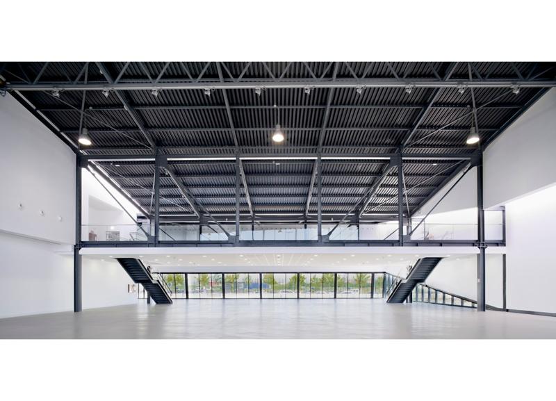 Centro Cultural Aeronáutico en el Aeropuerto de Barcelona-El Prat