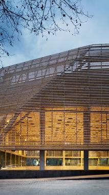 La Ciutadella Park Sports Pavilion