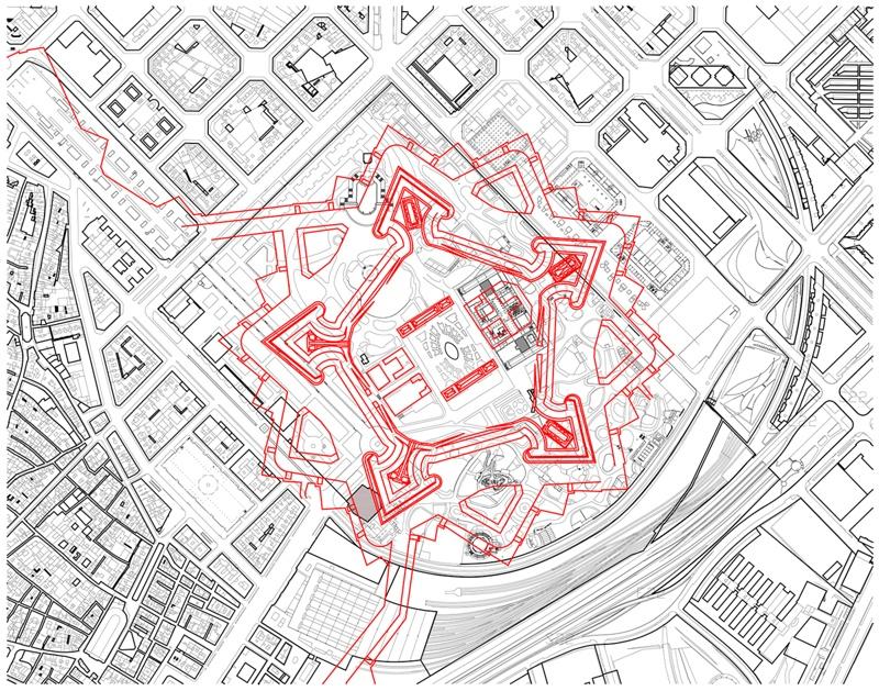 Pavelló Poliesportiu al Parc de la Ciutadella