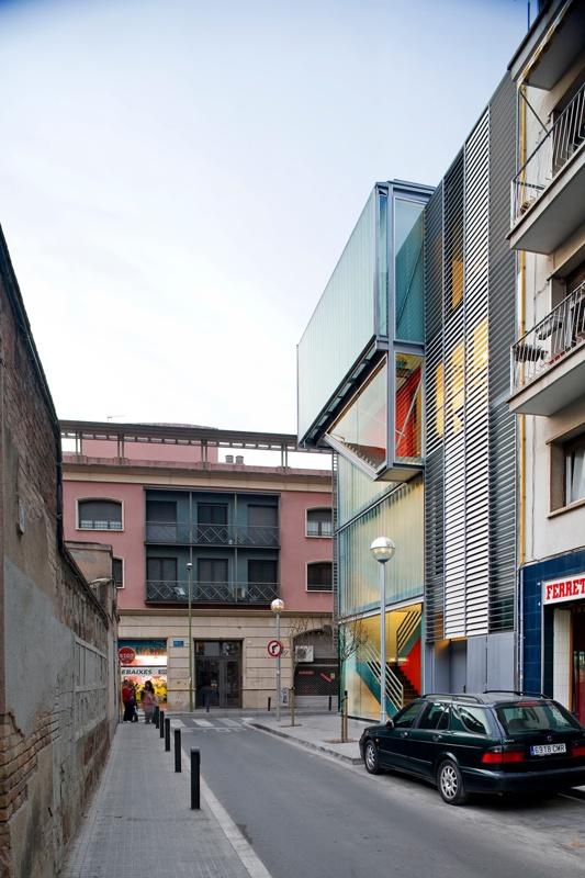 Marta Mata Library in the Titan Building