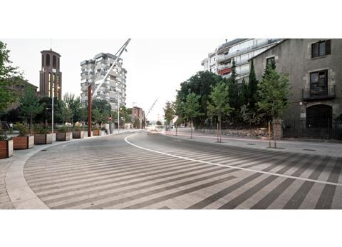 Transformació d'Espais Públics a l'Entorn de l'Ajuntament i la Carretera d'Esplugues