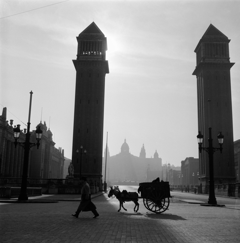 Entrance Towers to the 1929 International Exhibition