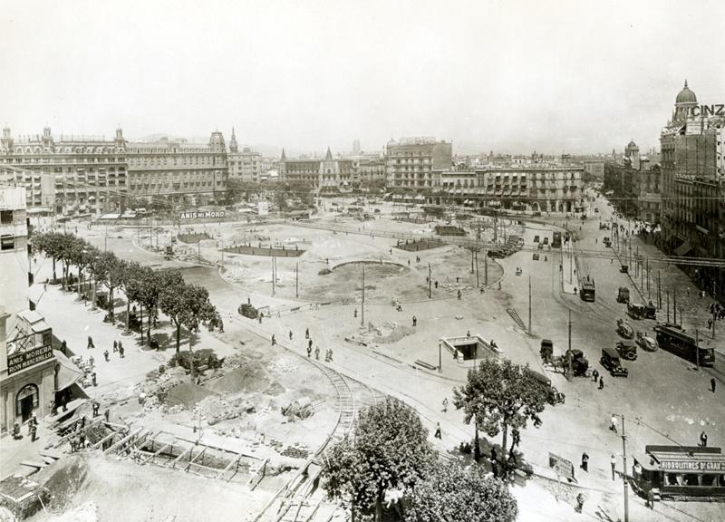 Proyecto de Urbanización de la Plaça Catalunya