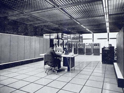 Departament de Màquines Electròniques de la Caixa de Pensions per a la Vellesa i d'Estalvis