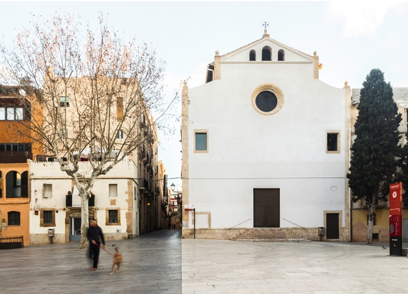 Restauració de l'Església de la Santíssima Trinitat