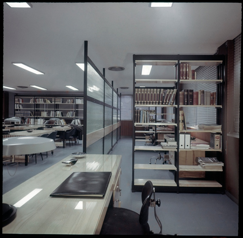 Library Floor of the Architects' Association of Catalonia (COAC)