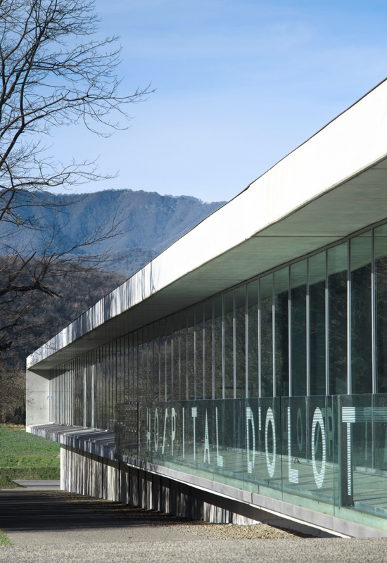 New Olot and Garrotxa County Hospital