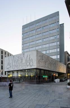 Renovació de la Façana del Col·legi d'Arquitectes de Catalunya (COAC)