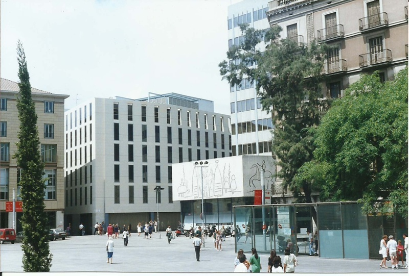 Arcs Street Building of the Architects' Association of Catalonia (COAC)