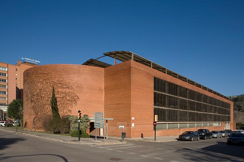 Aparcament de l'Hospital Josep Trueta