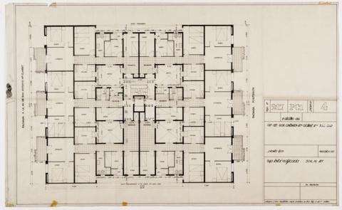 Edifici d'Habitatges Sant Antoni Maria Claret 318-332