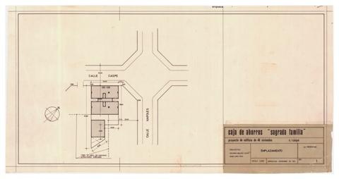 Habitatges Caixa d'Estalvis Sagrada Família