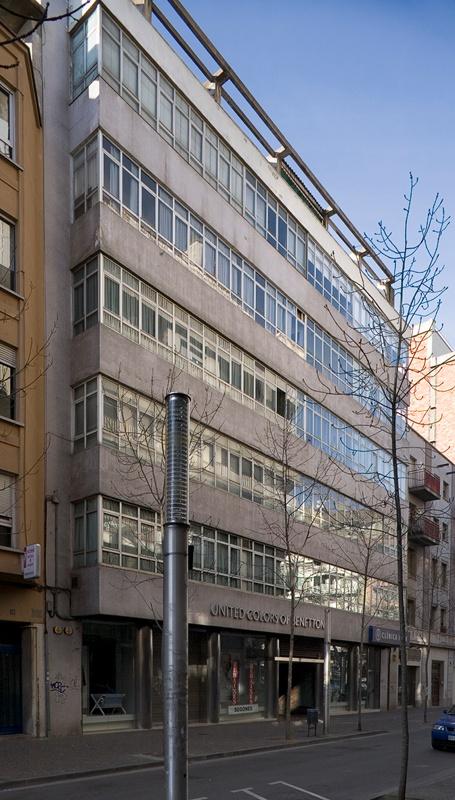 Bloc d'Habitatges per a Funcionaris d'Hisenda