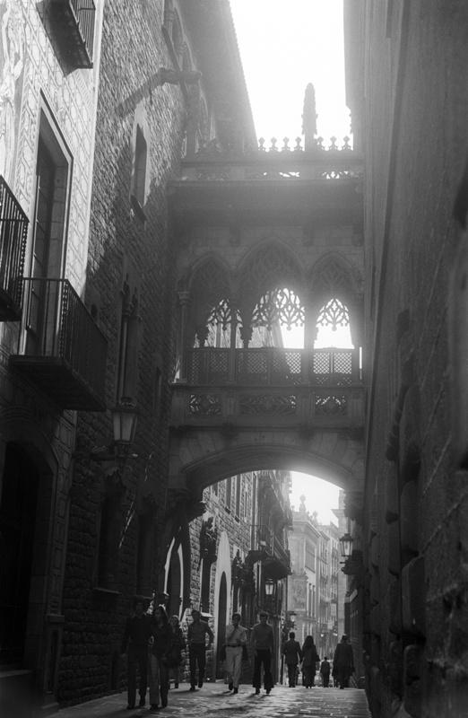 Pont del Bisbe del Palau de la Generalitat