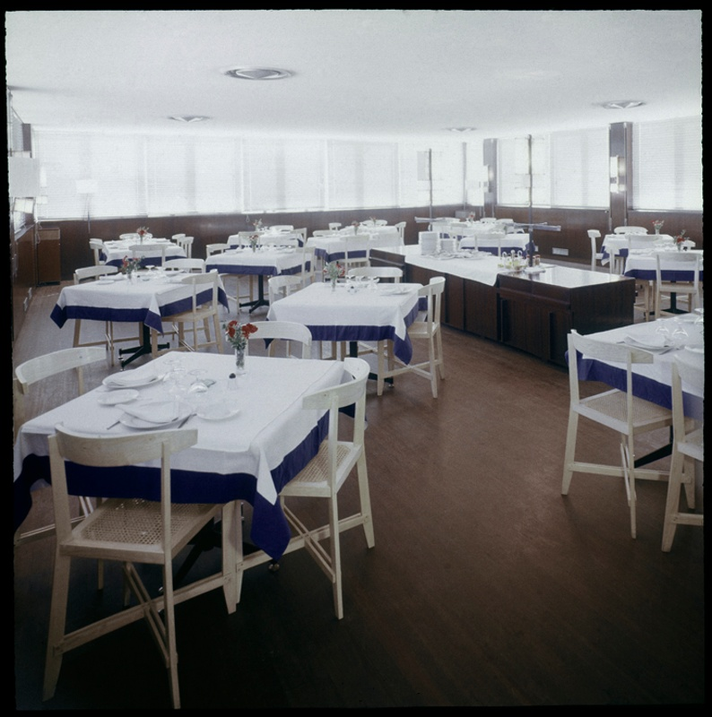 Bar and Restaurant Floor of the Architects' Association of Catalonia (COAC)