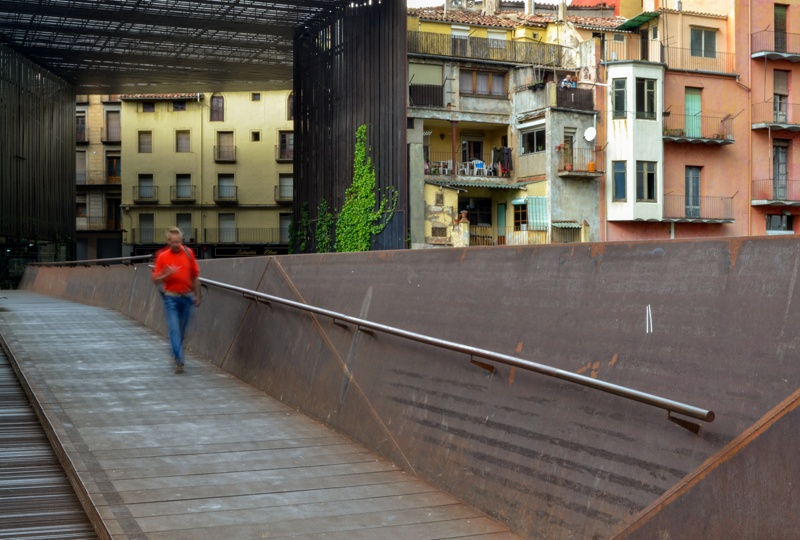 Public Space of La Lira Theatre